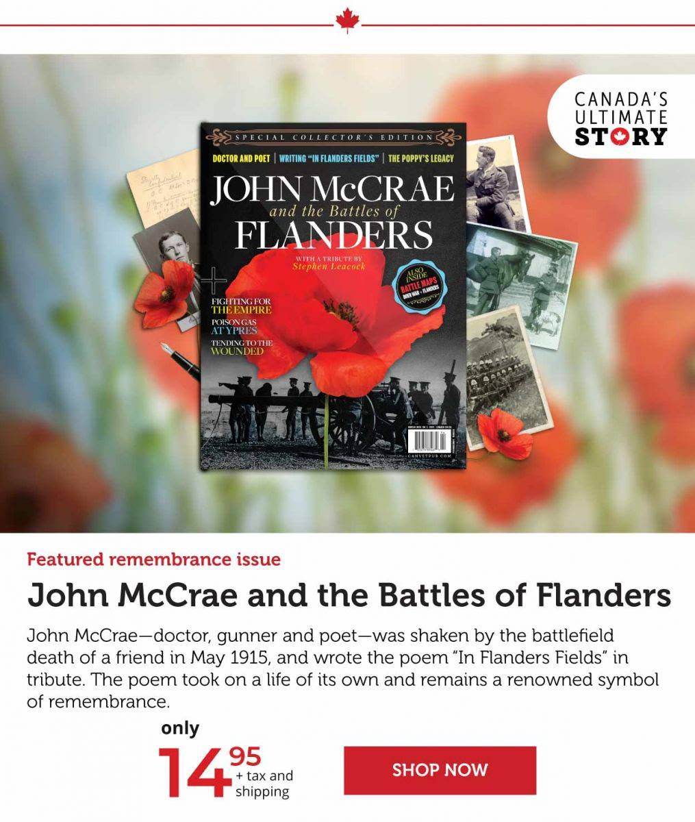 John McCrae and the Battle of Flanders
