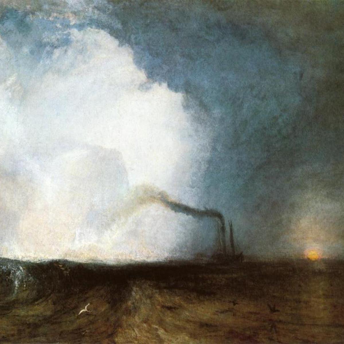 Staffa, Fingal's Cave by J.M.W. Turner
