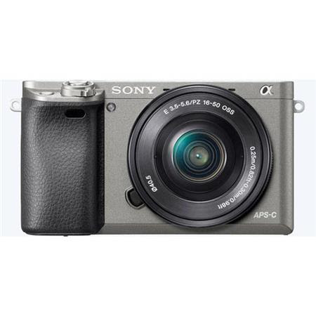 Alpha A6000 Mirrorless Digital Camera with 16-50mm E-Mount Lens, Graphite