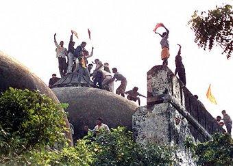 Babri mosque demolition