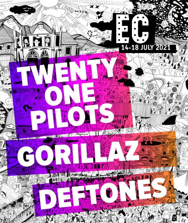 Twenty One Pilots - Gorillaz - Deftones