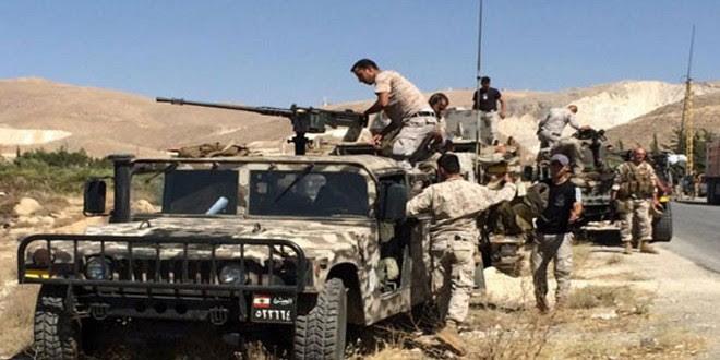 LÍBANO: Ejército libanés ataca posiciones del Estado Islámico en Jarrod Arsal