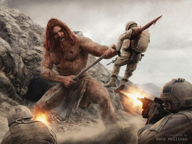 Red Haired Giant Brought Down in Afghanistan!  Linda Howe