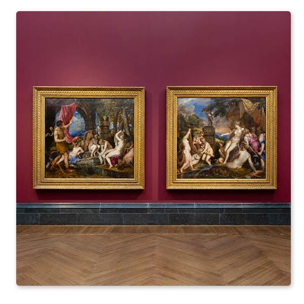 Inside 'Titian: Love, Desire, Death' © The National Gallery, London