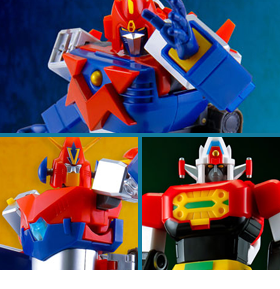 MINI ACTION SERIES VOLTES V, COMBATTLER V, & DAIMOS