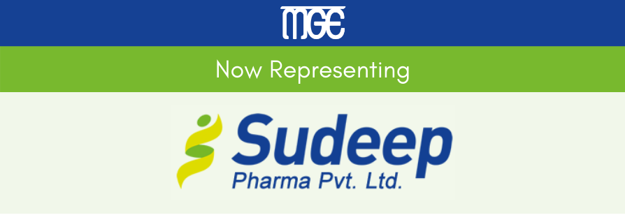 MGE Now Representing Sudeep Pharma