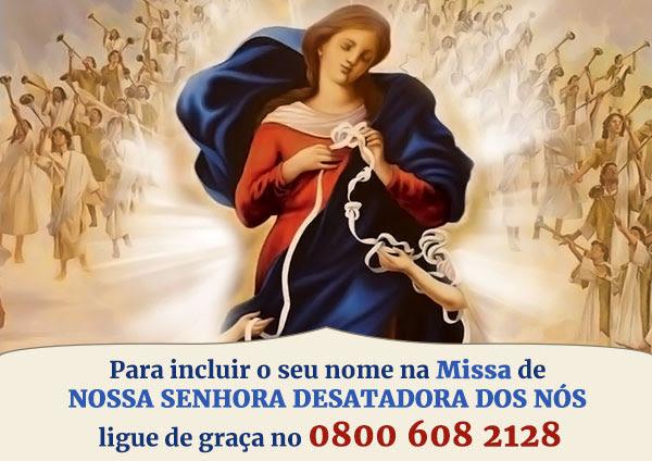 Esta Missa é para DESATAR TODOS OS NÓS DE SUA VIDA!