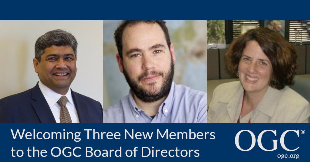 OGC欢迎Patty Mims、Javier de la Torre和Prashant Shukle加入董事会