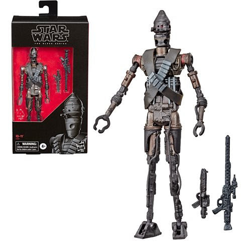 Image of Star Wars The Black Series IG-11 6-inch Action Figure - Exclusive - OCTOBER 2020