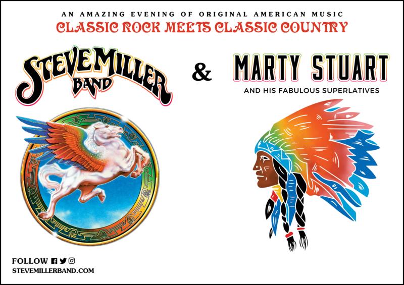 Steve Miller Band Live Admat