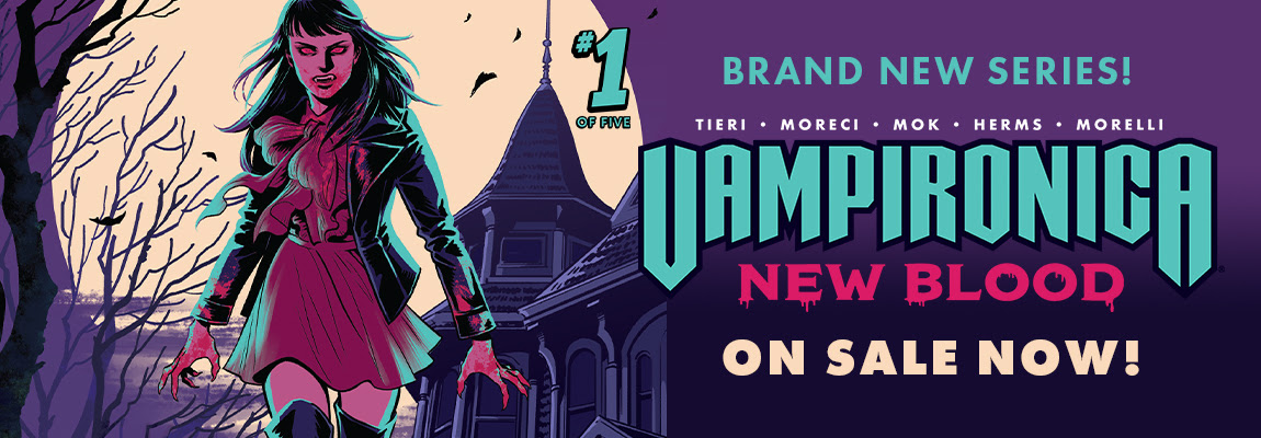 Get your copy of VAMPIRONICA: NEW BLOOD #1!