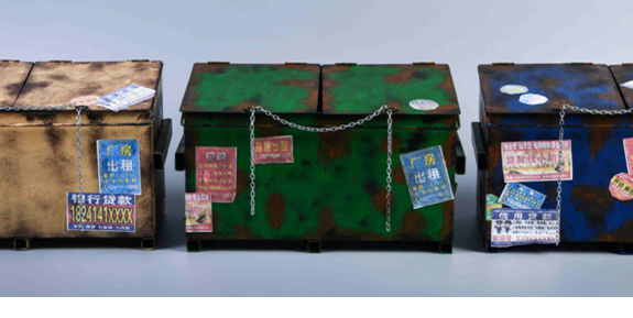 Dumpster 1/12 Scale Accessory