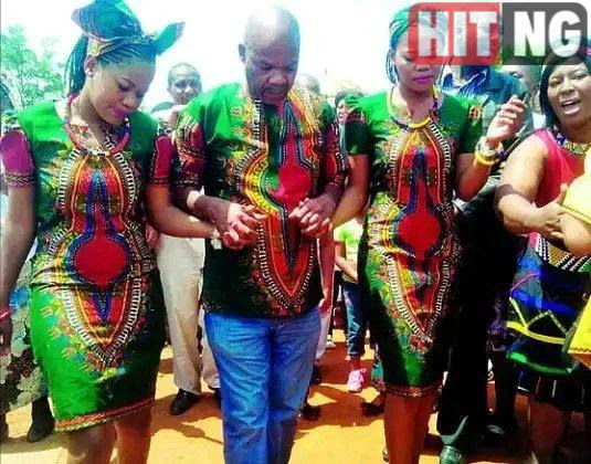South Africa's twin sisters marry one man out of poverty