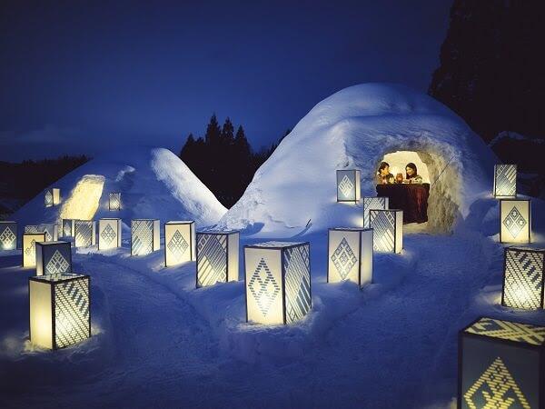 雪国の風物詩「かまくら」で開運イベント開催