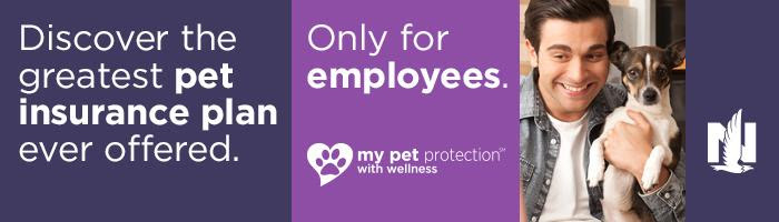 Nationwide Pet insurance banner graphic image