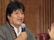 Evo Morales se encuentra asilado en México tras la persecución política que se desató al consumarse el golpe de Estado en su contra el pasado 10 de noviembre.