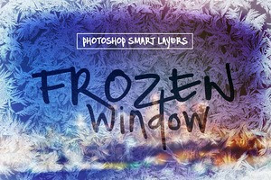 Frozen Window Effect Smart Layers