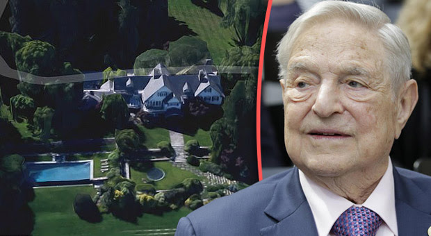 Bomb Found In George Soros's Home - FBI On Site (Video)