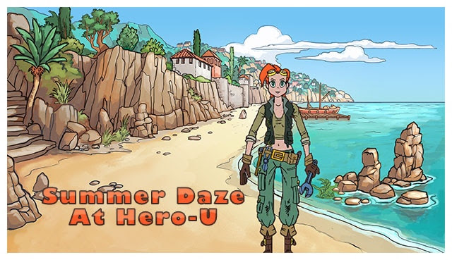 Postcard from Summer Daze at Hero-U