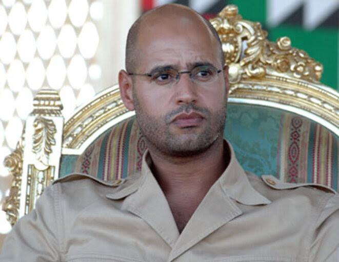 Saïf al-Islam Kadhafi, le fils du dictateur libyen. © (dr)