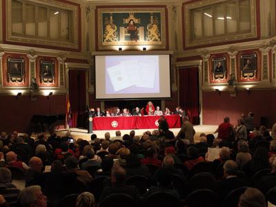 Presentación del Manifiesto 'Intelectuales por la III República' en el Ateneo de Madrid