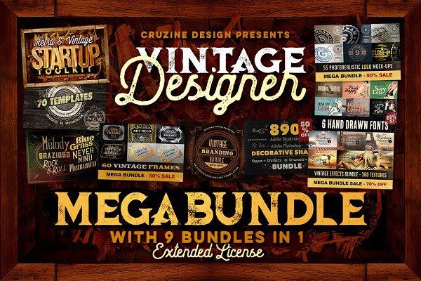 Vintage Designer Mega Bundle