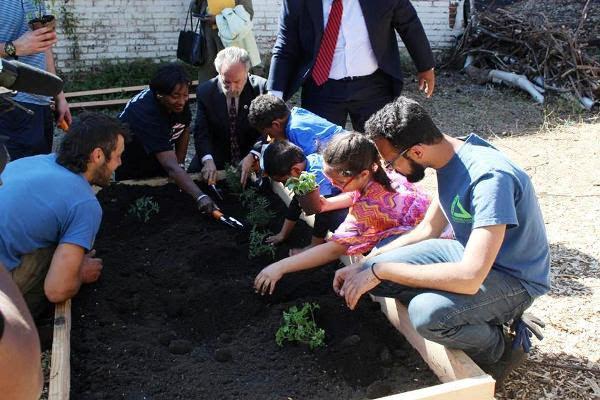Community Garden Earth Week