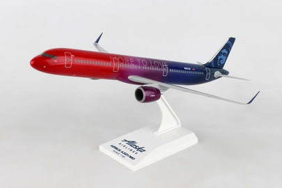 Airbus A321neo Alaska Airlines,'More to Love'