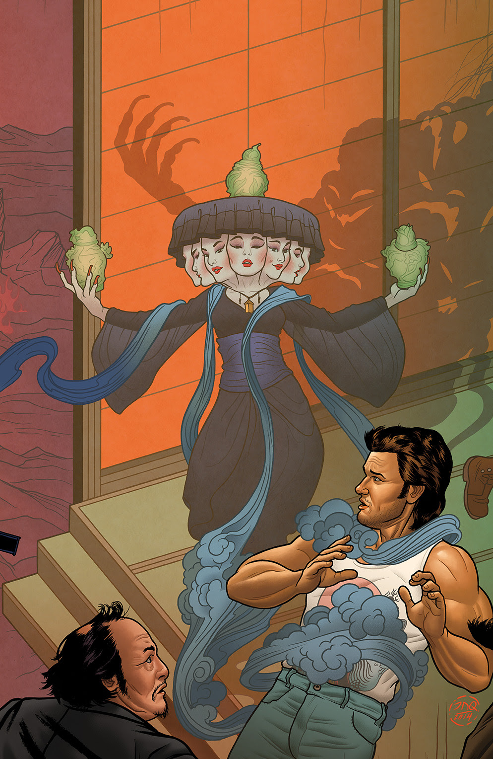 BIG TROUBLE IN LITTLE CHINA #3 Cover B by Joe Quinones