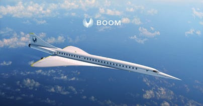 Image result for boom supersonic