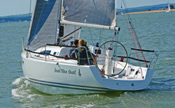 J/97E sailing- wheel option