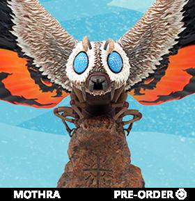 Godzilla: Tokyo S.O.S. Mothra Premium Scale Statue