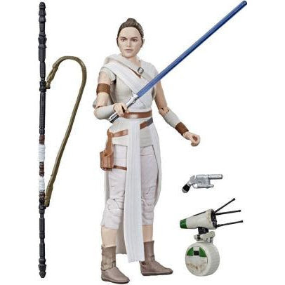 Image of Star Wars The Black Series 6-Inch Action Figures Wave 23 - Rey & D-O
