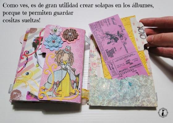 Álbum de fotos Desplegable CINDERELLA 41