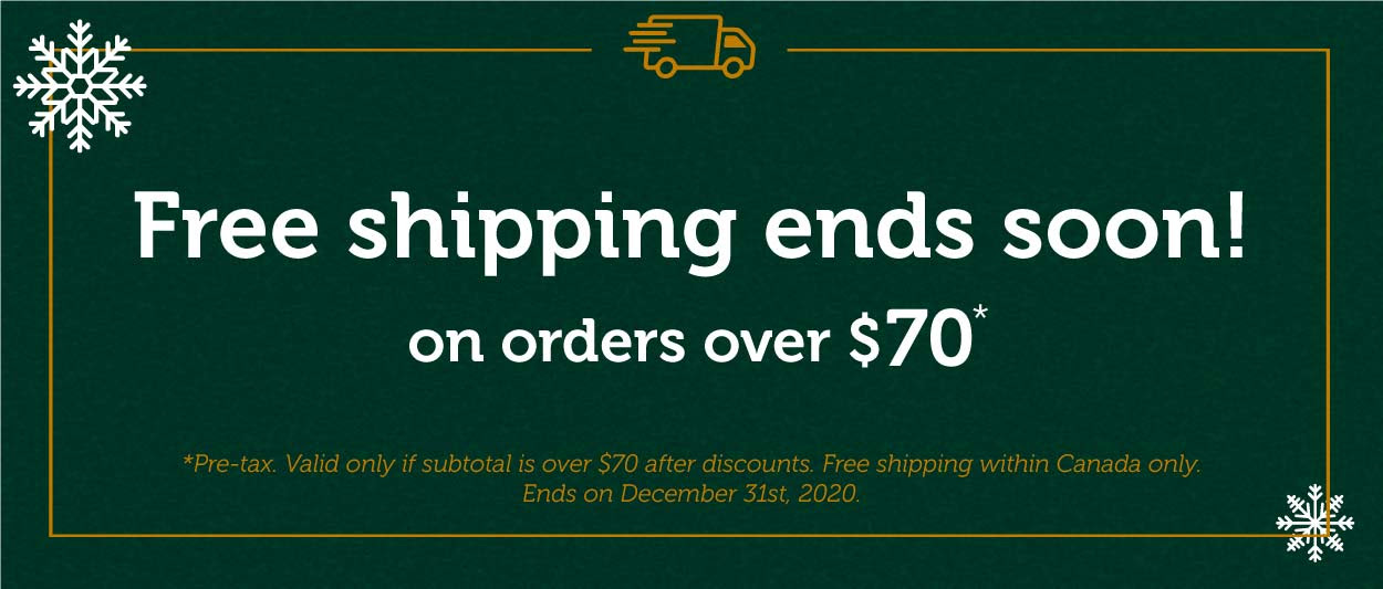 FREE SHIPPING on orders over $70!