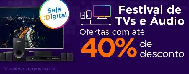 Clique e garanta já sua TV nova! Ofertas com até 40% OFF