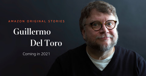 A collection of dark and twisted stories from the Academy Award-winning director Guillermo del Toro will publish from Amazon Original Stories in 2021 (Photo: Business Wire)