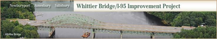 Whittier Bridge/I-95 Improvement Project