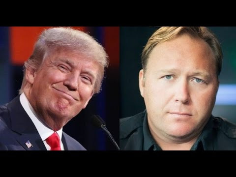 Alex Jones: Donald Trump to Reveal Globalist Secrets of Life Extension and Disease Cures (Video)