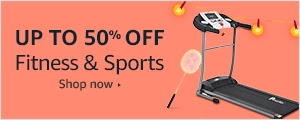 Up to 50% off on Fitness & Sports
