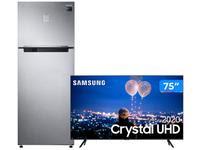 Geladeira/Refrigerador Samsung Frost Free Duplex