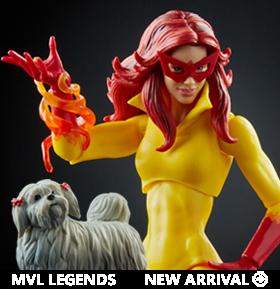 Marvel Legends Marvels Firestar and Ms. Lion