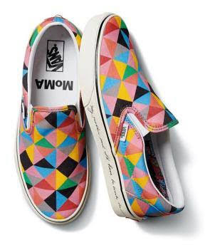 Vans UA Classic Slip-On - (MOMA) Faith Ringgold Sepatu Sneaker