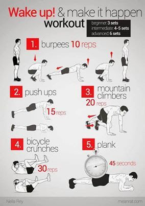 Tips for quick workouts