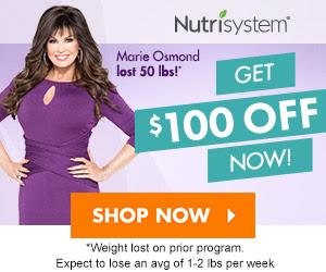 Nutrisystem $100 OFF!