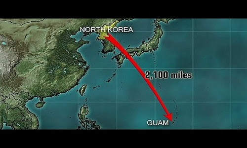 "North Korea Warns Residents of Guam : Do Not Look at the Sky After We Fire Our Missiles or ""Be Blinded"" by the Flash +Videos"