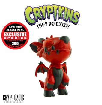Cryptozoic Entertainment at New York Comic Con 2018 Blood Moon Jersey Devil (Cryptkins)