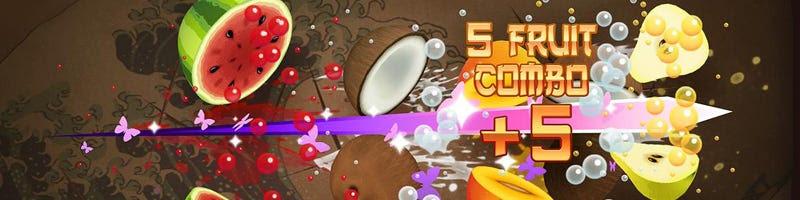 Fruit Ninja released on the PS Vita