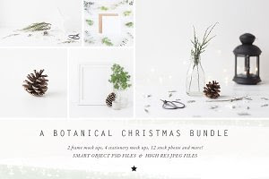 The NEW Botanical Christmas BUNDLE