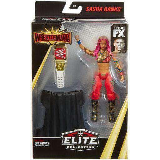 Image of WWE Wrestlemania Elite Collection - Sasha Banks Action Figure